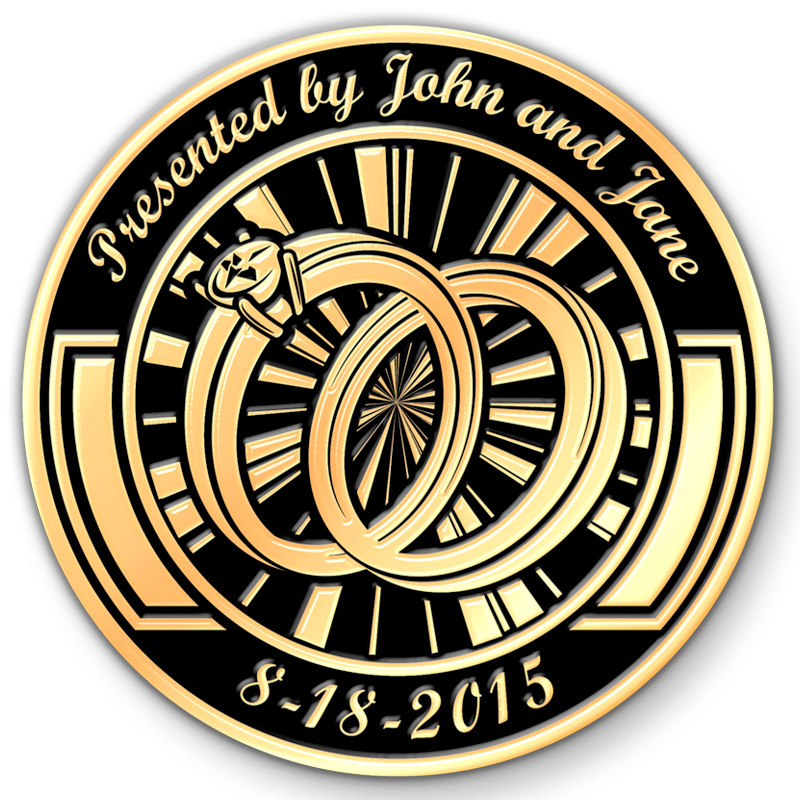 If You Do Custom Challenge Coins Are Among The Most Personal And Meaningful Favors Around