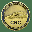 CRC georgia tech college coin