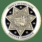 California Highway Patrol Challenge Coin Back