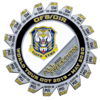 World Tour Tiger EAMU Challenge Coin Front