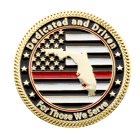 Estero Florida Firefighter Challenege Coin