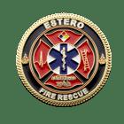 Estero Florida Firefighter Challnege Coin