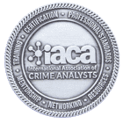 IACA International Association Crime Analysis Coin back