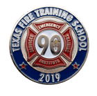Texas training school Challenge Coin front