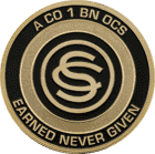 Company-1-Battalion-OCS Challenge Coin