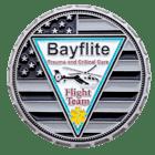 Bayflite challenge coin front