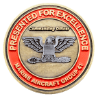Marine Aircraft Challenge Coin