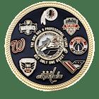 DMV Sports Challenge Coin Front