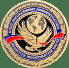 DEA Sensitive Investigative Units Challenge Coin Front