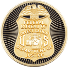 FBI San Juan Challenge Coin Front