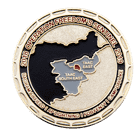 264th Engineer Clearance Company Challenge Coin back