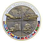 Trade Transparency Unit Challenge Coin