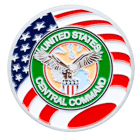 United States Central Command Challenge Coin Front