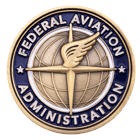 Federal Aviation Administration Challenge Coin Front