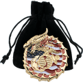 Velvet Coin Bag