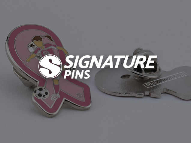 Signature Pins Awareness Pin