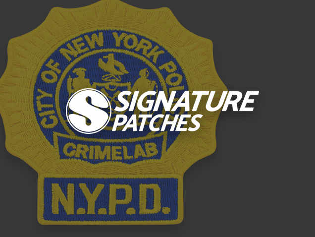 Signature Patches - NYPD Patch Crimelab