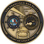 Port of Stockton Bar Pilots Front