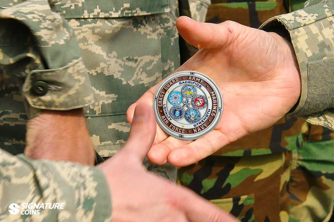 Military Challenge Coins
