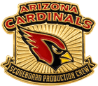 Arizona Cardinals Soft Enamel Pin