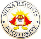 Siena Heights Food Drive