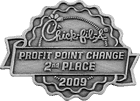 Chick-fil-A Manager Bonus Pin