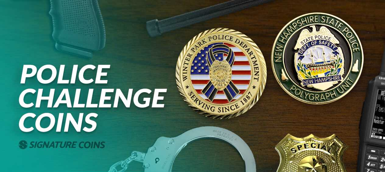 Custom Police Challenge Coins | Police Coins - Signature Coins
