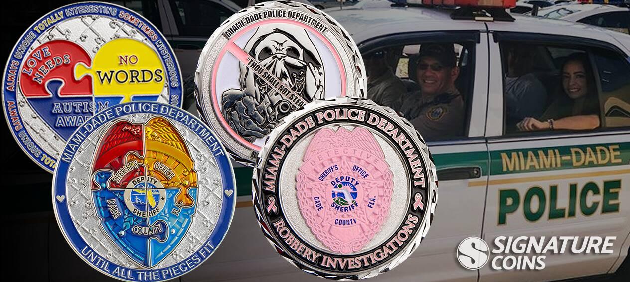 SignatureCoins-Miami-Dade-Police-ChallengeCoin