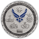 High Polish Silver Air Force Coin