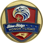 Blue Ridge Honor Flight Challenge Coin