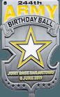 Army Birthday Ball Coin