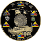 Iron Soldiers Challenge Coin