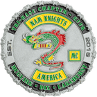 Nam Knights MC Challenge Coin Side 2