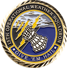 15th Operational Weather Squadron Coin