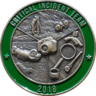 3D Critical Incident Team Coin