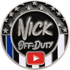 Nick Off-Duty Challenge Coin