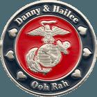 Marine Corps Wedding Challenge Coin