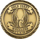 Gold Coast Wheelers Challenge Coin Side 2
