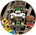 Power Rangers Challenge Coin Side 2