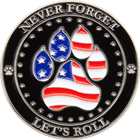 Police K9 Challenge Coins