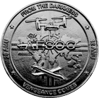AFSOC Black Nickel Coin
