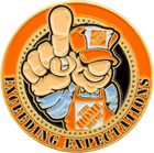 Home Depot Challenge Coin