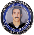 Officer James Rapozo Commemorative Coins