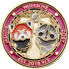 Jasmine and Zoey Wedding Coin