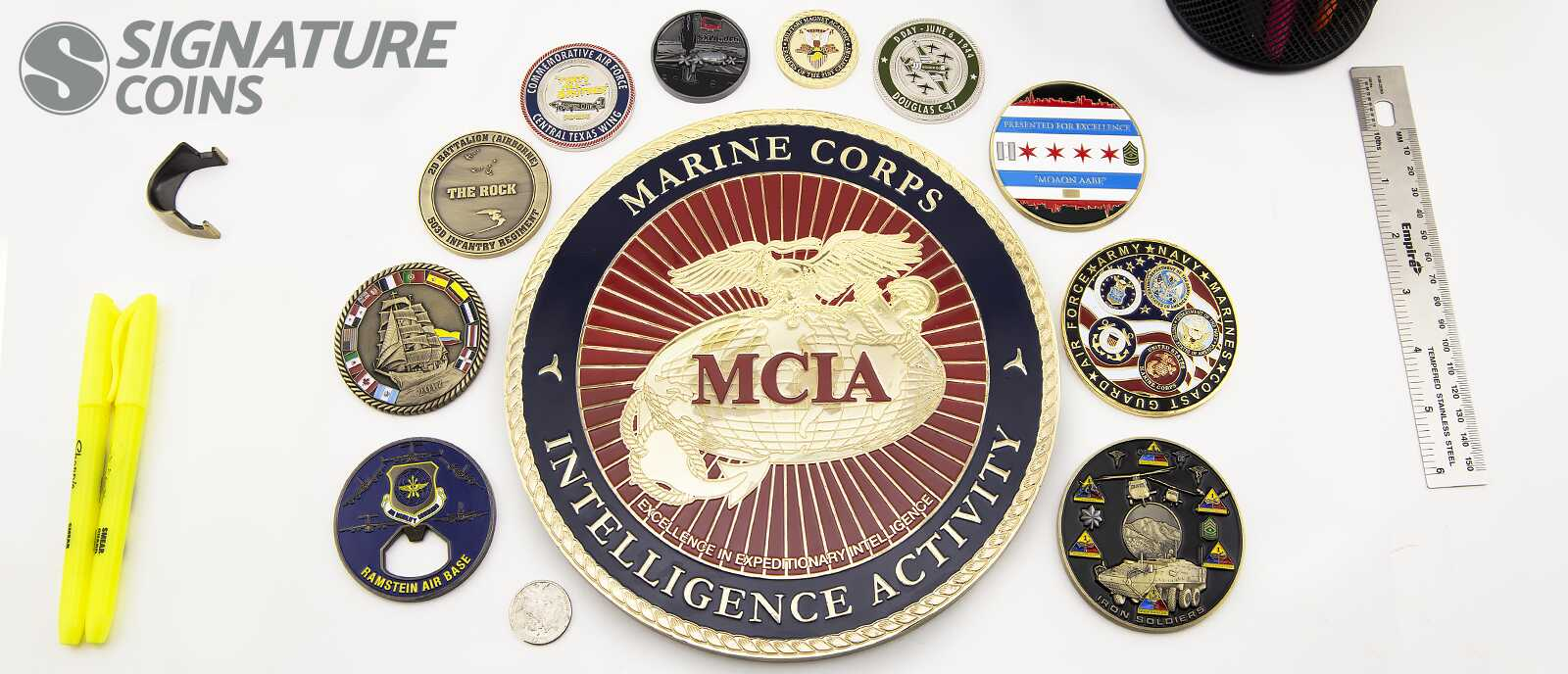 SignatureCoins-OversizedCoins-Military Challenge Coins 4