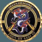 Delta Dragons Challenge Coin