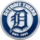 Detroit Tigers Challenge Coin