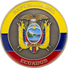 Republica Del Ecuador Coin Side 2