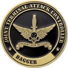 Joint Terminal Attach Controller Challenge Coin Side 2
