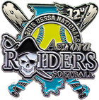 Raiders Softball Trading Pin